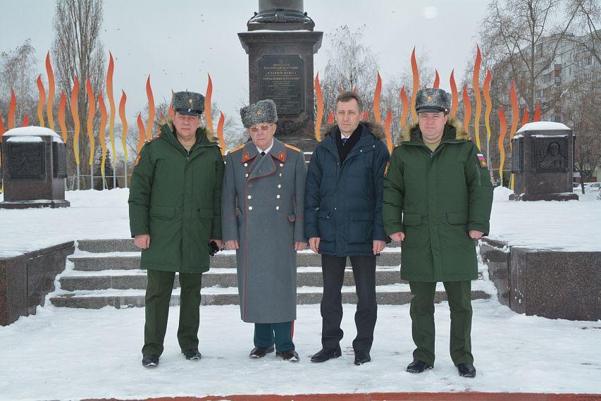 полковники Сергей Басов и Владимир Долматов