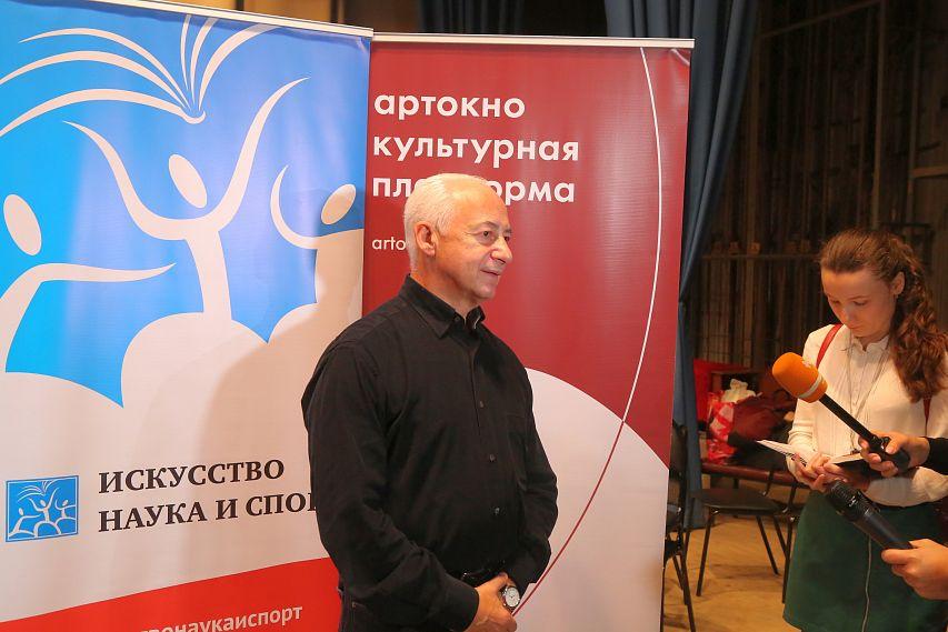 Интервью с Владимиром Спиваковым и Полиной Шамаевой