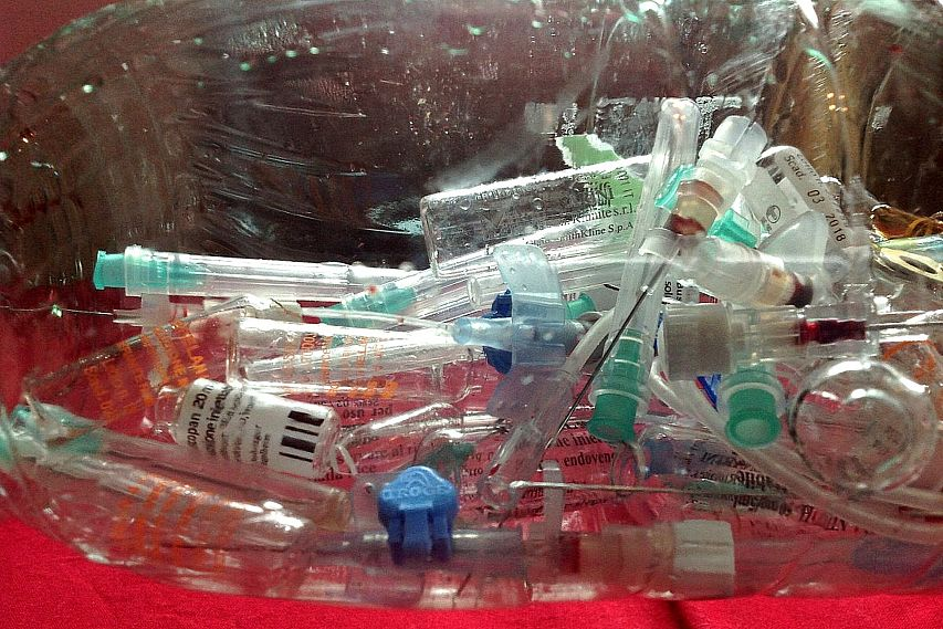 Медицинские отходы старооскольских больниц утилизировались с нарушениями