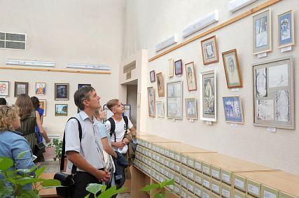 В Старом Осколе открылась выставка работ Ренаты Филимоновой